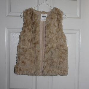 Zara Girls Outerwear Vest